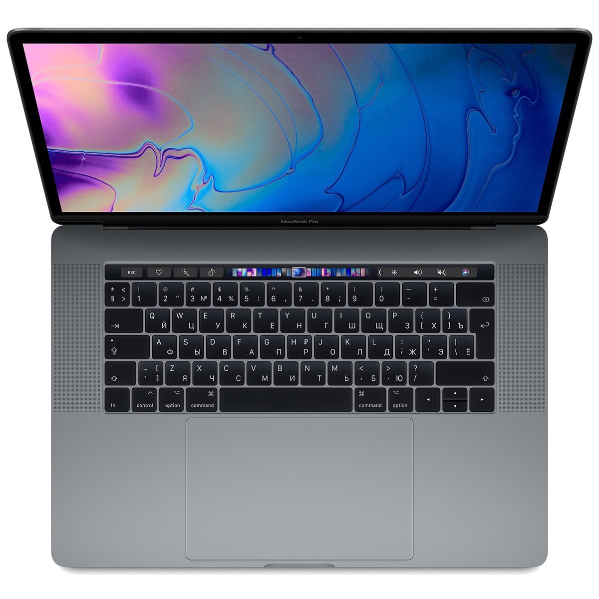 "Apple MacBookPro 15.4"" Retina 8-core IC 9th-gen i9 2.4GHz/32GB/4TB/RdnProVega 20 4GB/TBar Space Gray"