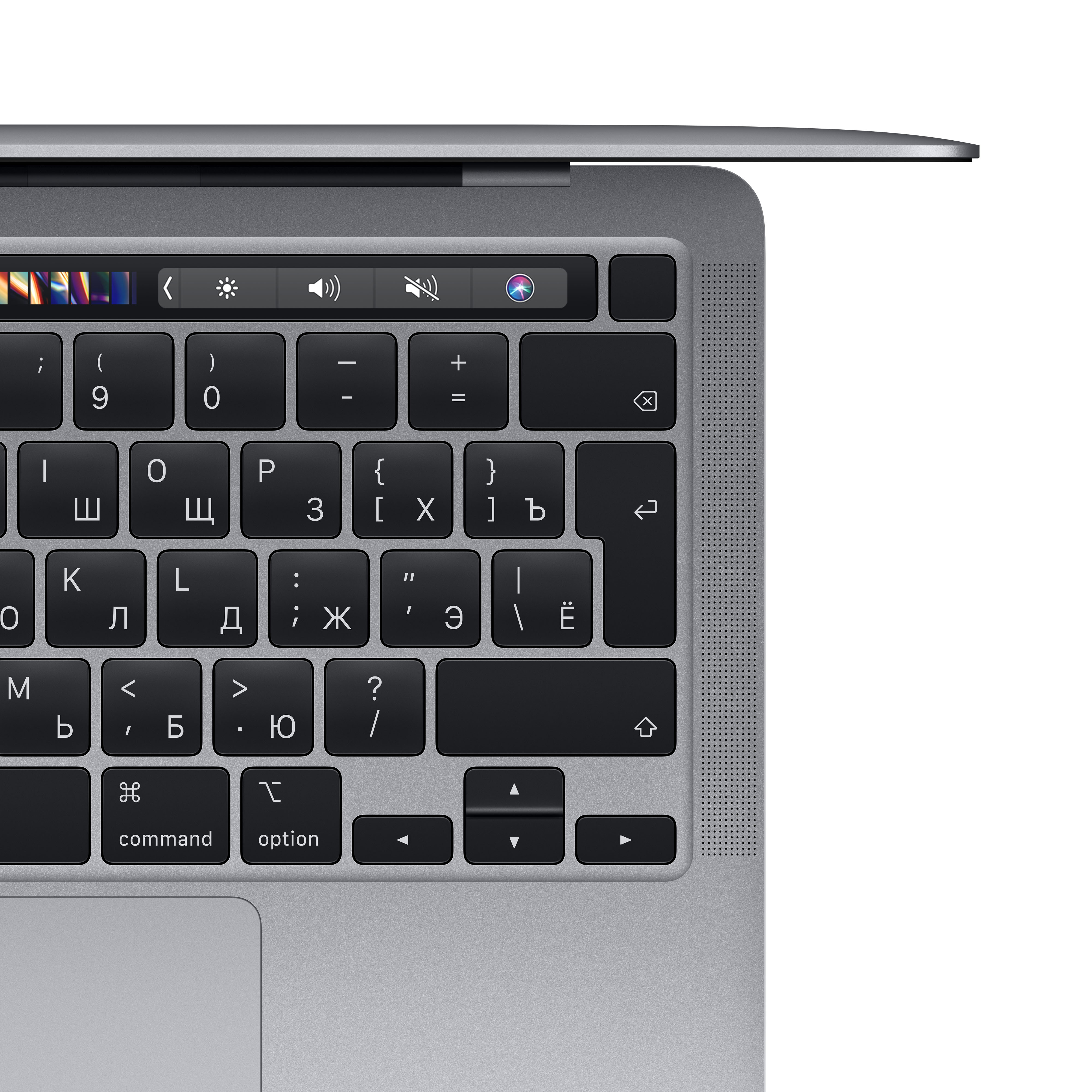 "Apple MacBook Pro 13"" (M1, 2020) 8 ГБ, 512 ГБ SSD, Touch Bar, «серый космос»"