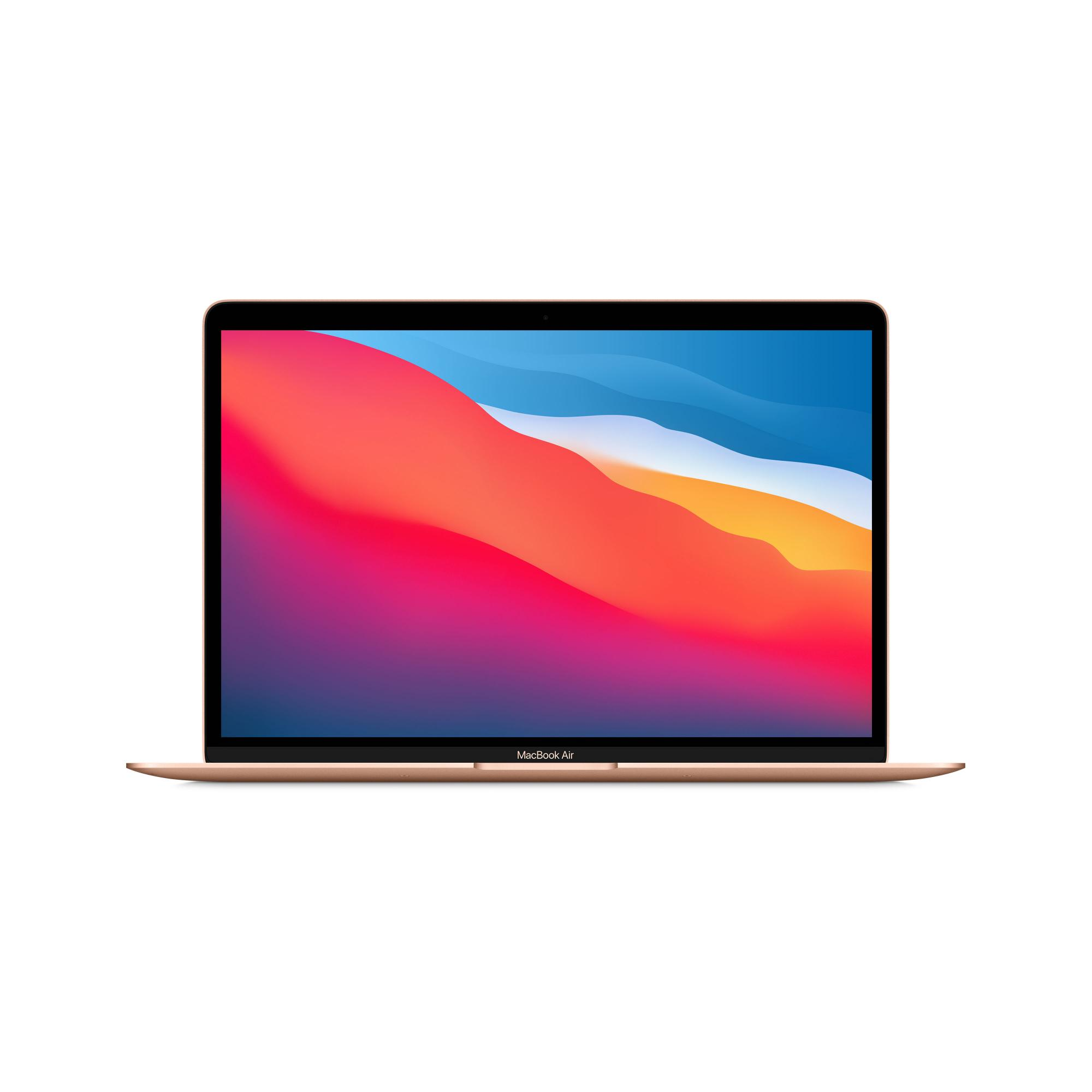 Apple MacBook Air (M1, 2020) 16 ГБ, 256 ГБ SSD, золотой СТО